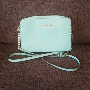 Teal Michael Kors Crossbody Bag